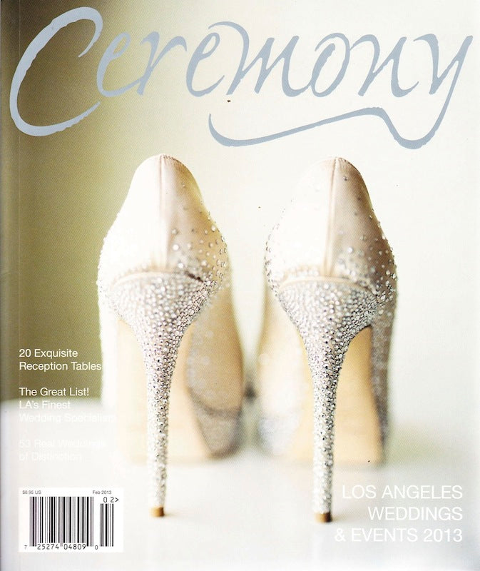 PRESS FEATURE // CEREMONY MAGAZINE LA // SPRING 2013