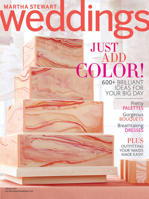 PRESS FEATURE // MARTHA STEWART WEDDINGS // SPRING 2013