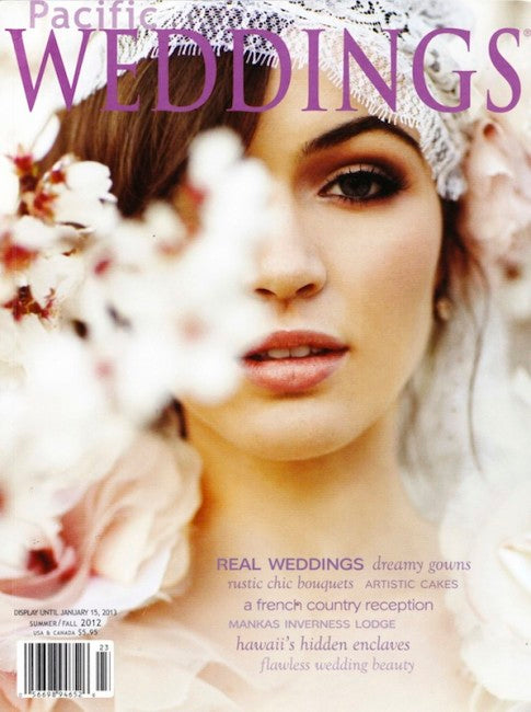 PRESS FEATURE // PACIFIC WEDDINGS // PRE FALL 2012
