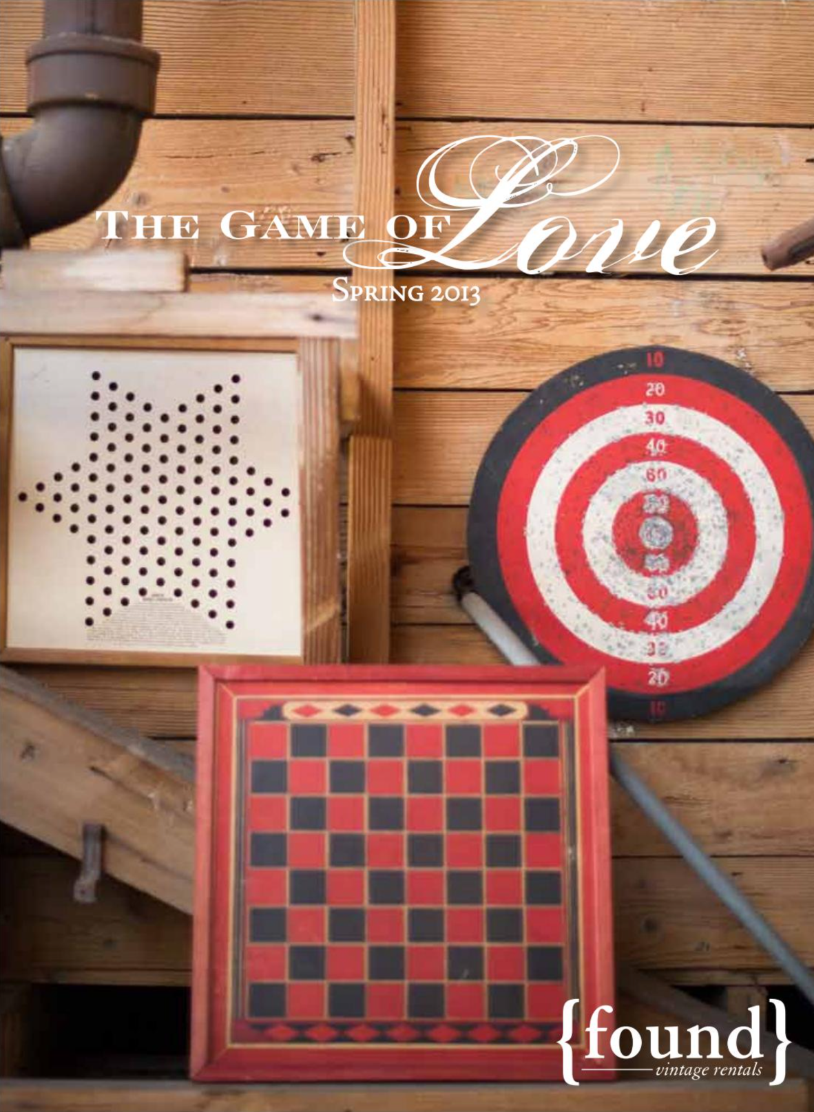 THE GAME OF LOVE //  SPRING 2013