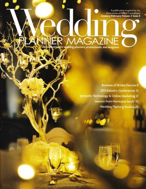 PRESS FEATURE // WEDDING PLANNER MAGAZINE