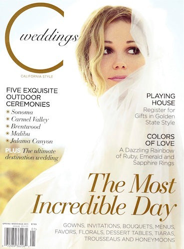 PRESS FEATURE // C WEDDINGS // SPRING 2011