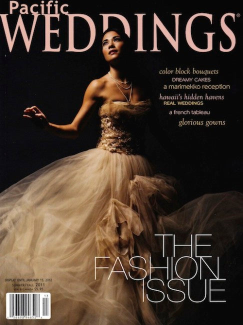 PRESS FEATURE // PACIFIC WEDDINGS // PREFALL 2011