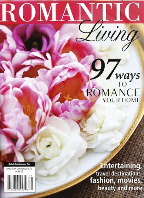 PRESS FEATURE // ROMANTIC LIVING // SPRING 2012