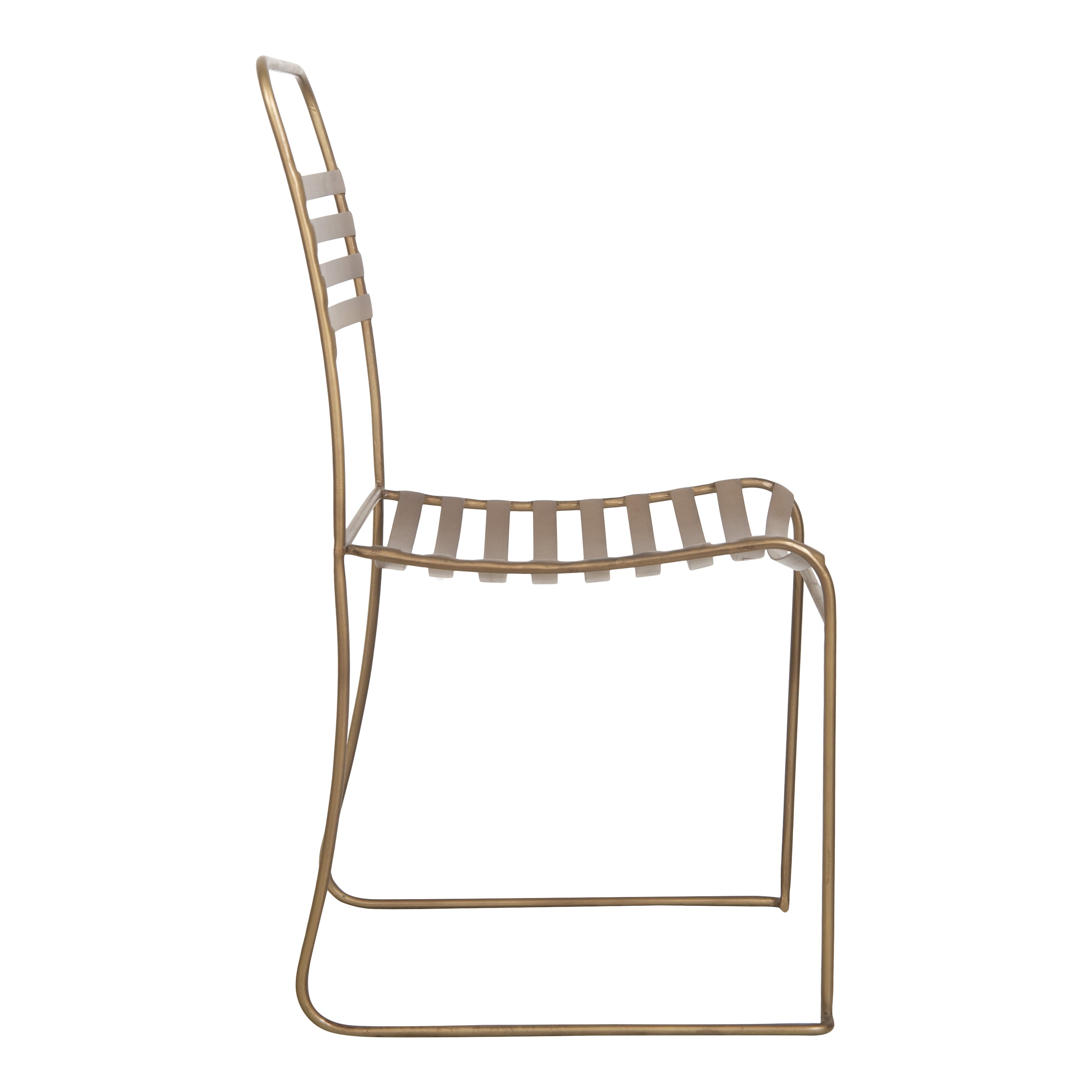 Lancaster Brass Chair