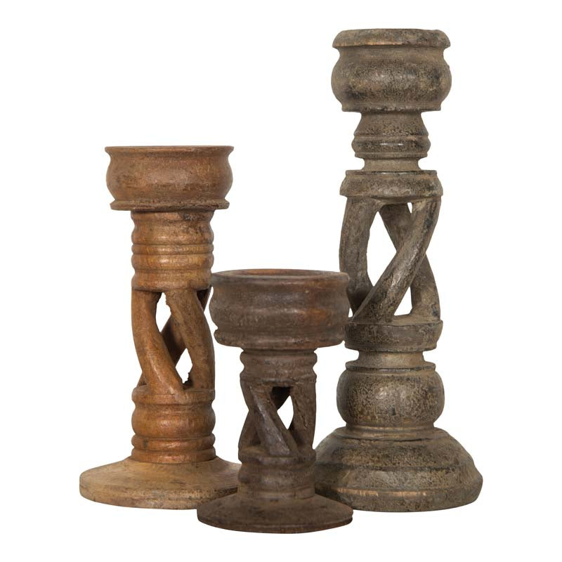 Hallie Candlesticks (Set of 3)