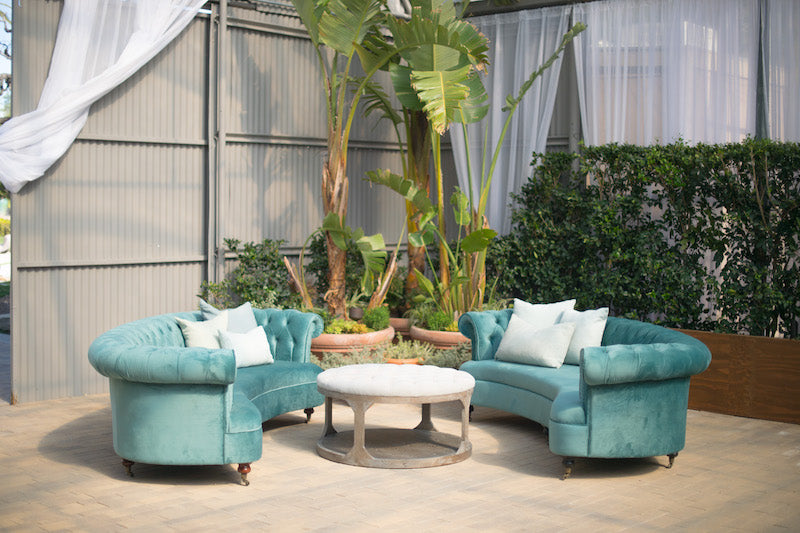 Vivianna Teal Couch