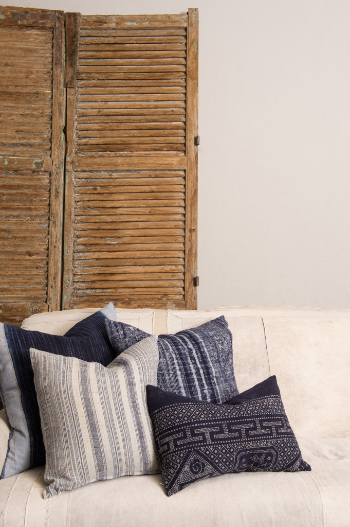 Indigo Pillows (Set of 3)