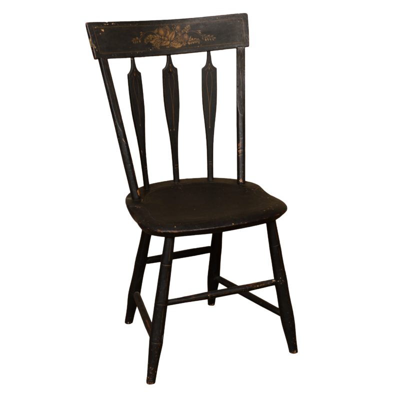 Fiore Black Chair