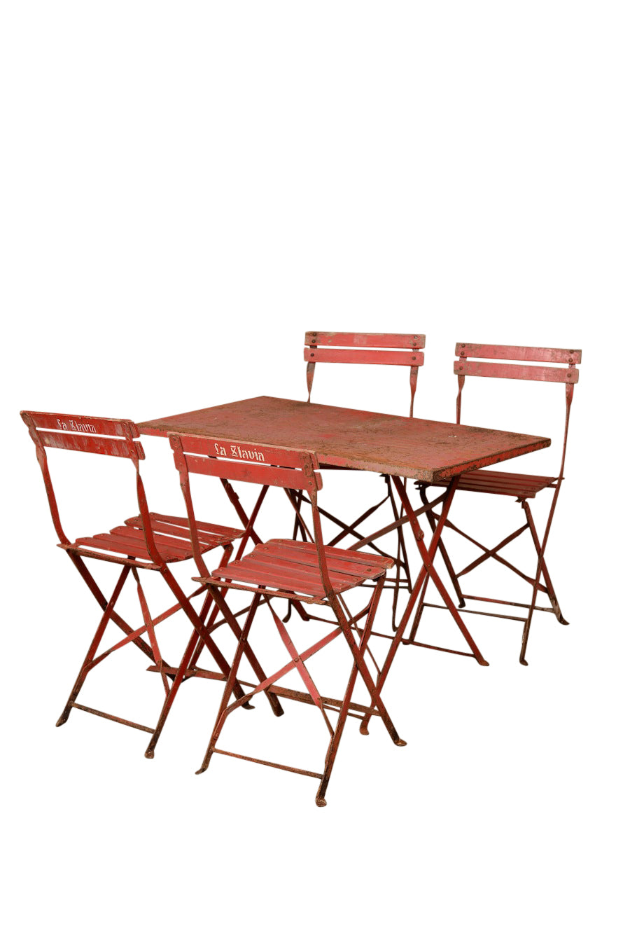 Cerise Red Table