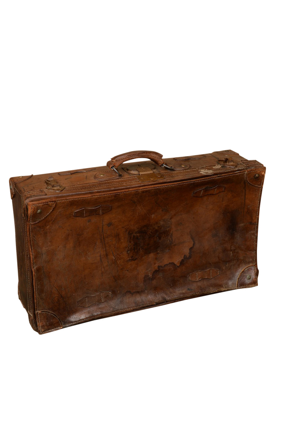 Yannick Leather Suitcase