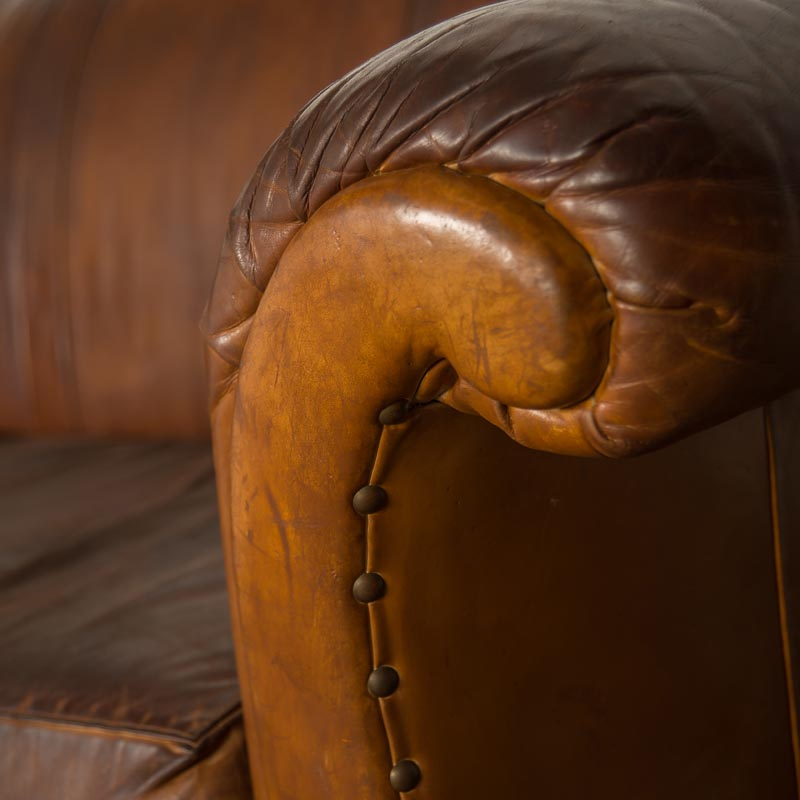 Hudson Leather Couch