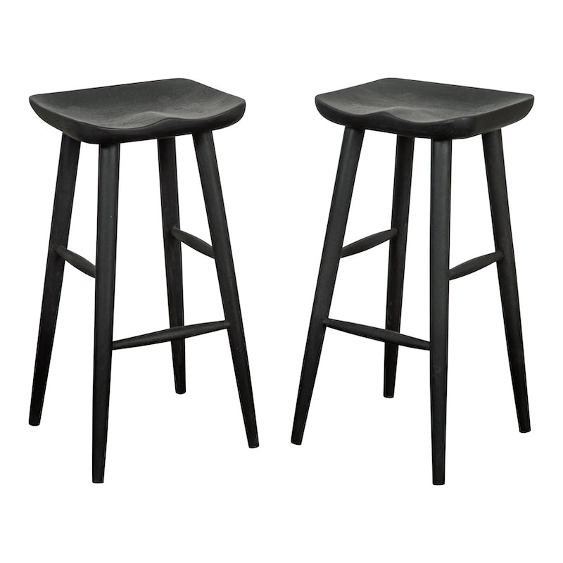 Kurtis Black Bar Stool