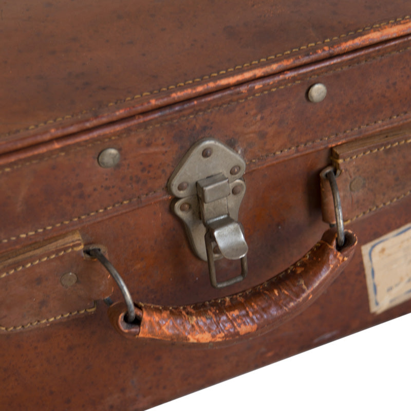 Rothchild Leather Suitcase