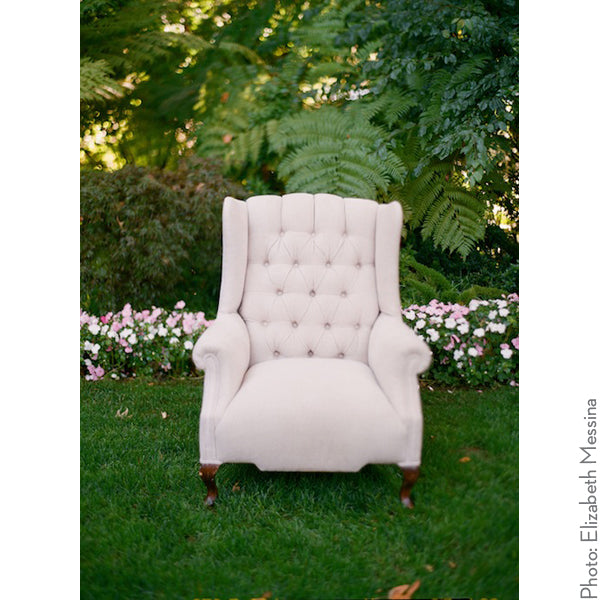 Young Linen Wingback