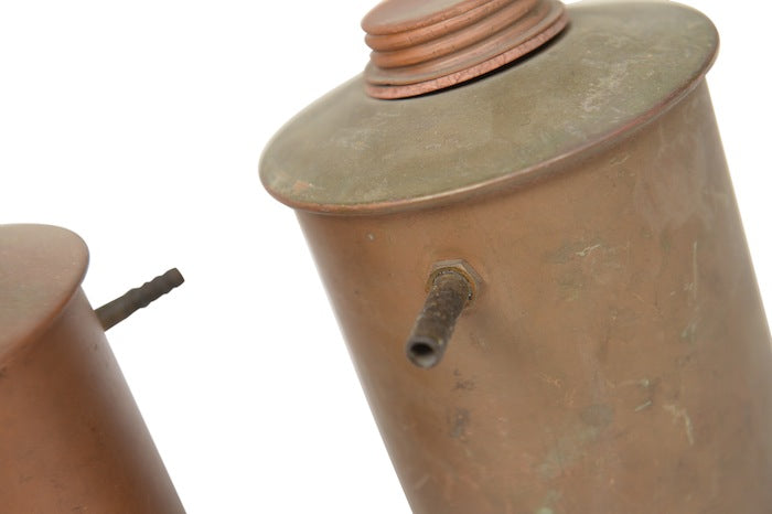Brecht Copper Oil Can