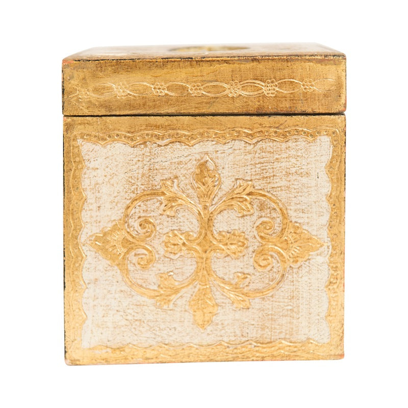 Anton Gold Tissue Box