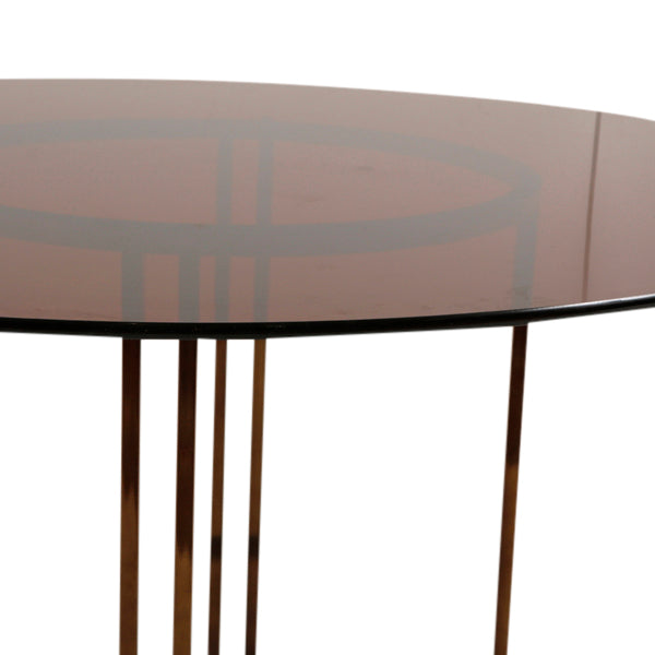 Knightson Glass Table
