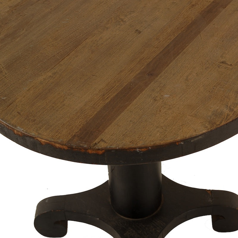 Crusoe Black Table