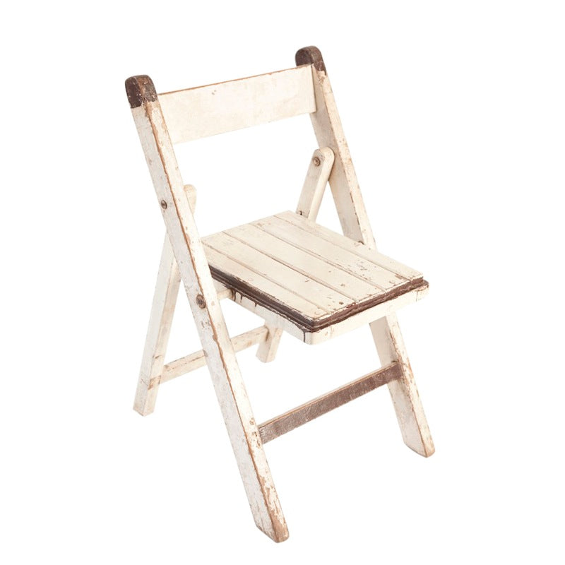 Hardy White Folding Chair