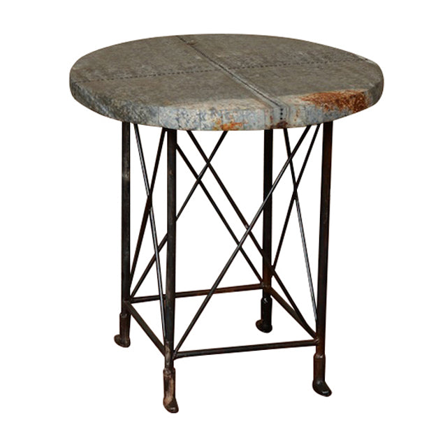 Gideon Industrial Side Table