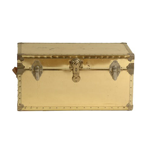 Lockard Brass Trunk