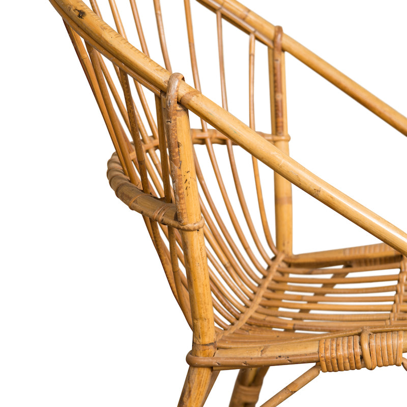 Lovell Rattan Chair