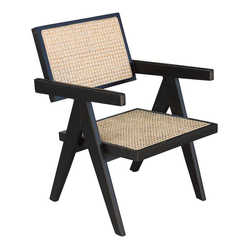 Lyle Black Armchair