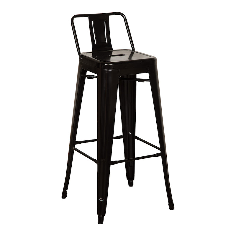 Riverdale Black Bar Stool