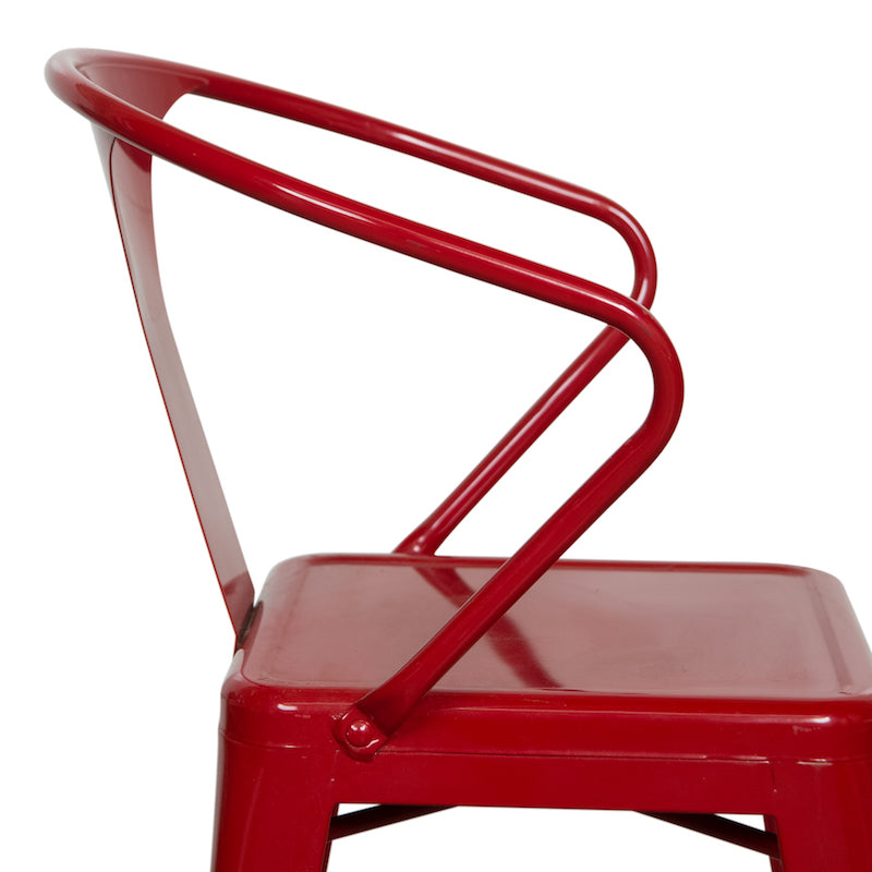 Weldon Red Armchair