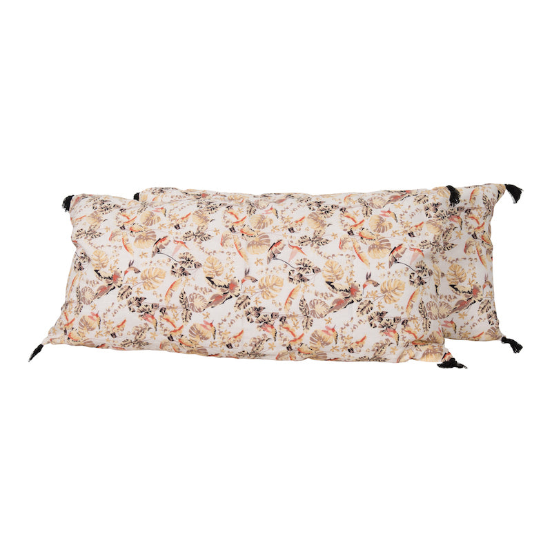 Samira Oversized Blanc Pillow
