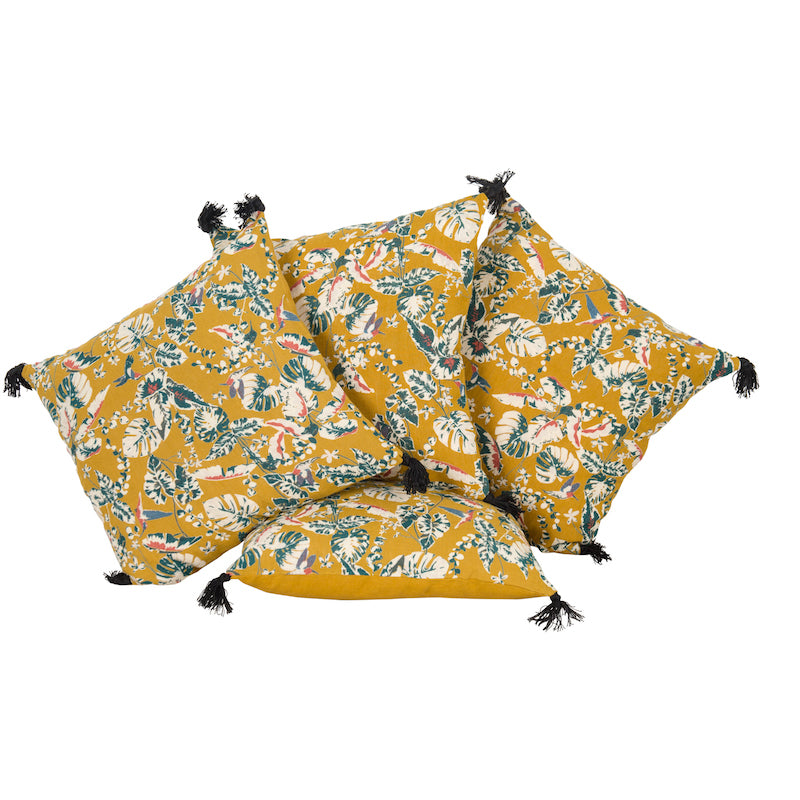 Samira Safran Pillows (Pair)
