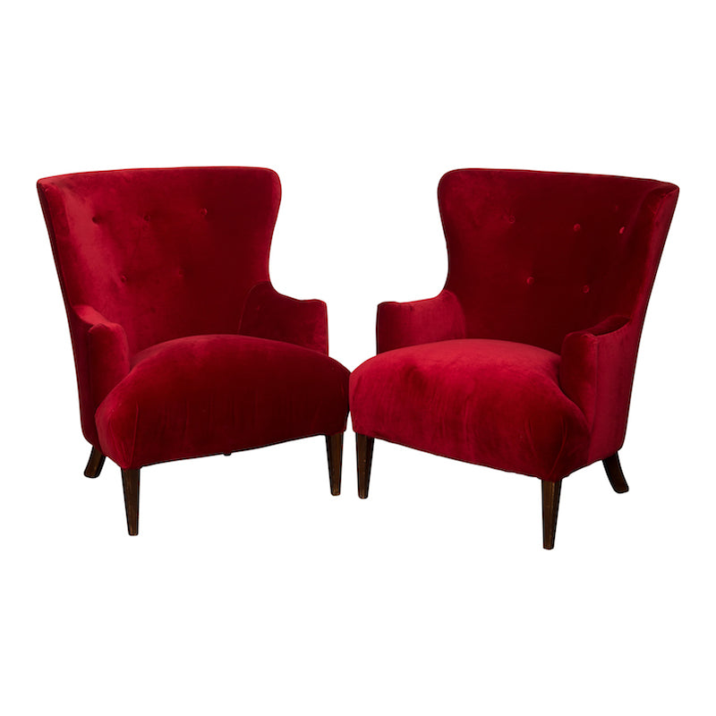 Sangria Wingback Chair