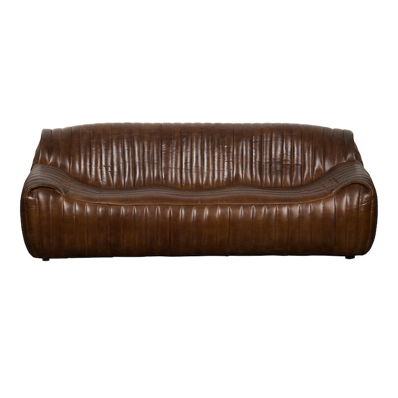 Teddy Leather Couch