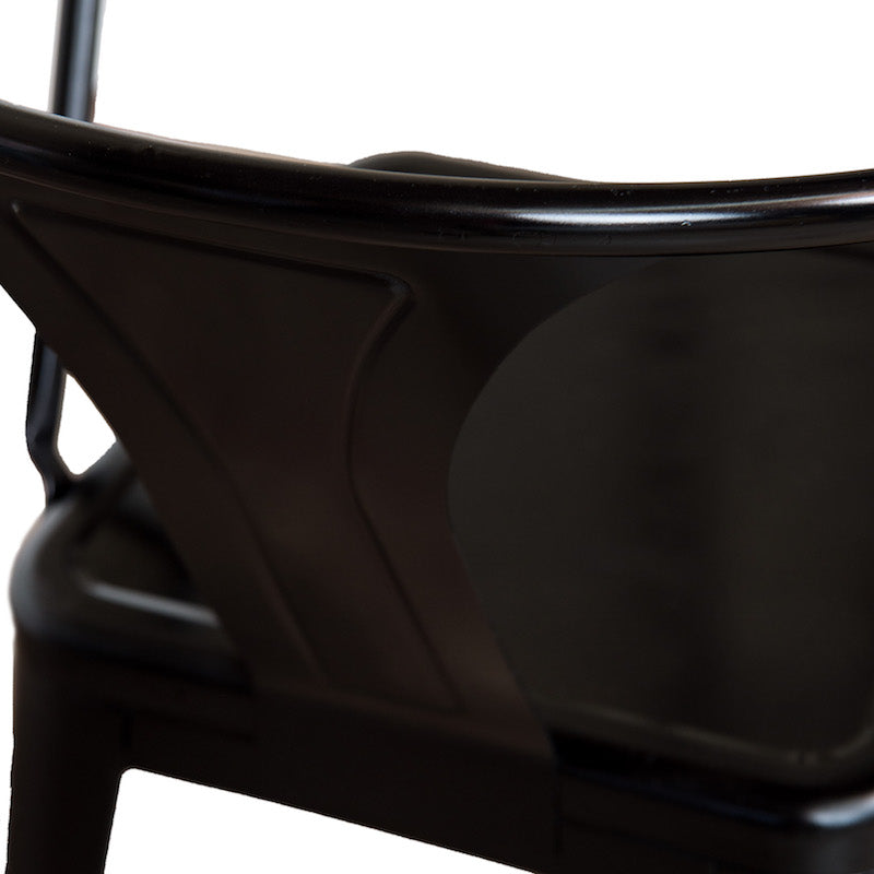 Weldon Black Armchair
