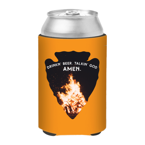 Drinkin Beer Talkin God AMEN Koozie