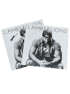 Lambs and Lions Autographed Vinyl