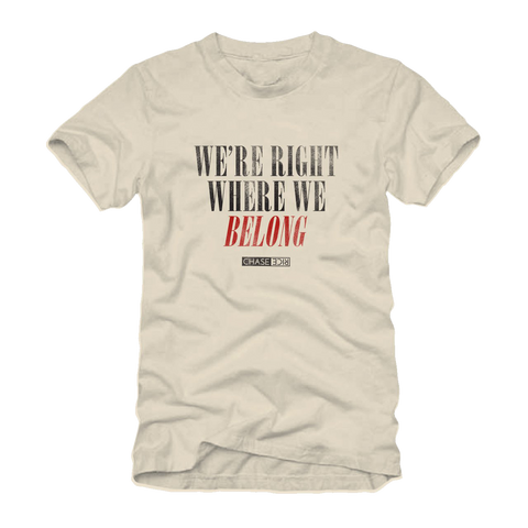 Where We Belong Tee