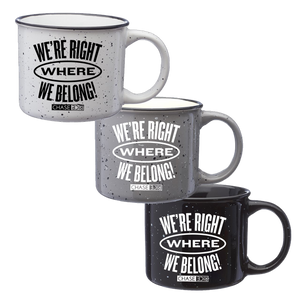 Where We Belong Mug