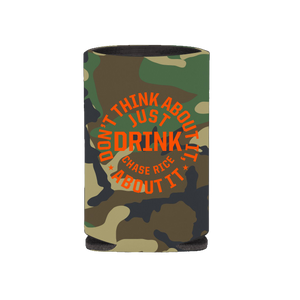 Just Drink Camo Koozie
