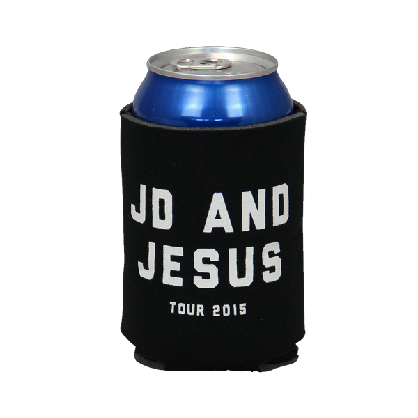 JD & Jesus Tour Koozie - Black