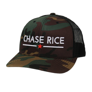 Chase Rice Camo Hat