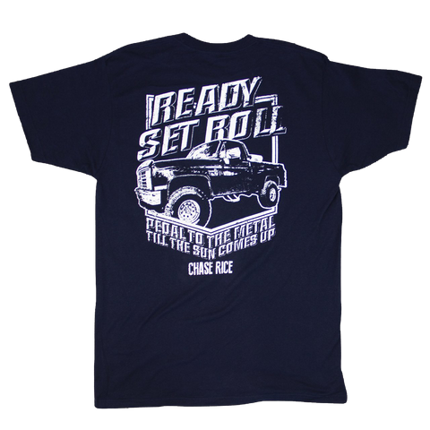 Ready Set Roll Navy Tee