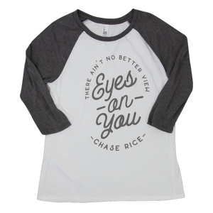 Ladies Eyes On You Raglan Tee