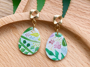 Summer Garden (Oval Dangles 01)