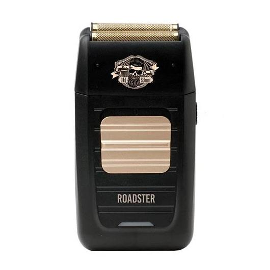 Shaver Roadster Captain Cook negra y dorado - Kissbel