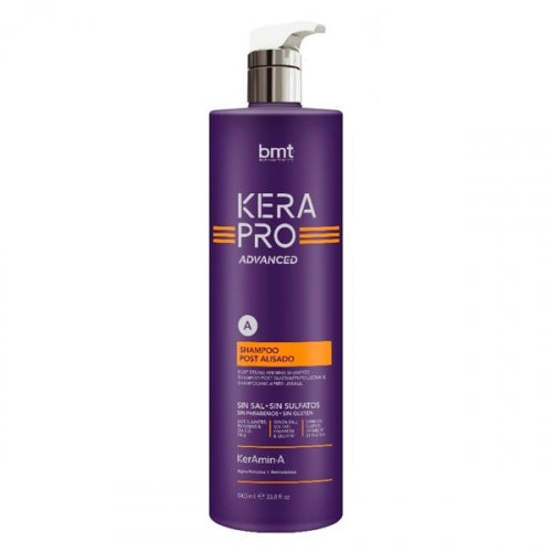 Kerapro Advanced Champú post alisado 1000ml - Kissbel