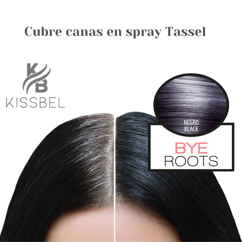 Cubre canas en spray rubio oscuro Tassel 75 ml - Kissbel