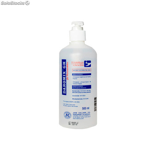 Gel hidroalcohólico Daromix 500 ml - Kissbel