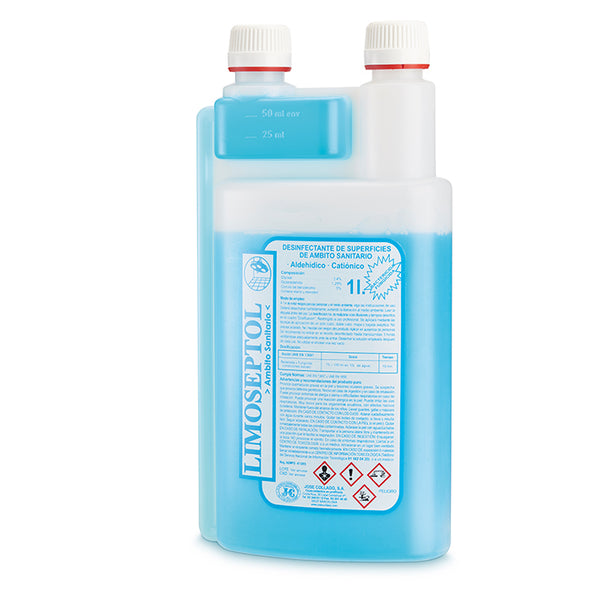 Limoseptol limpiador y desinfectante concentrado de 1000 ml - Kissbel